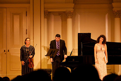 Emily Ondracek-Peterson at Carnegie Hall